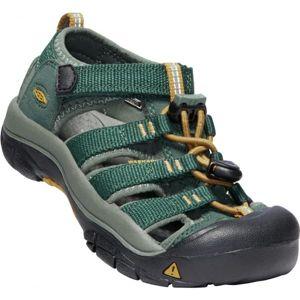 Keen NEWPORT H2 zelená 11 - Dětské sandály