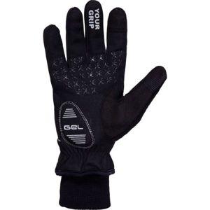 Klimatex ANYK černá L - Unisexové softshelové rukavice