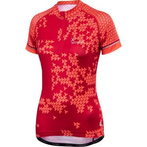 Klimatex TILLY červená M - Dámský cyklistický dres