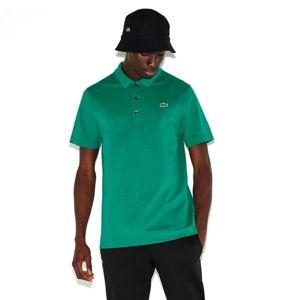 Lacoste MAN SHORT SLEEVES BEST POLO tmavě zelená XXL - Pánské polo tričko