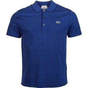 Lacoste MEN S S/S POLO tmavě modrá L - Pánské polo tričko