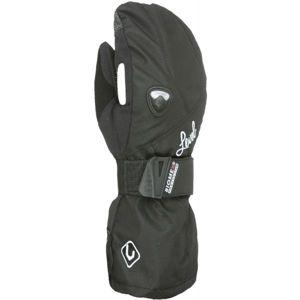 Level BUTTERFLY W MITT černá 8 - Dámské snowboardové palčáky