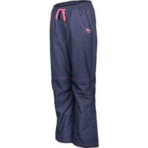Lewro NINGO modrá 140-146 - Dětské zateplené kalhoty