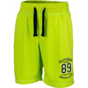 Lewro THIAN zelená 116-122 - Chlapecké šortky
