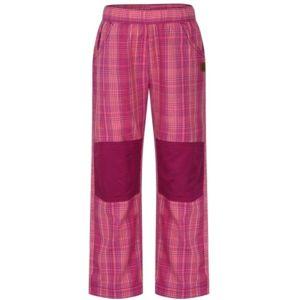 Loap NARDO JR růžová 122-128 - Dětské kalhoty
