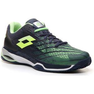 Lotto MIRAGE 100 CLY zelená 8.5 - Pánská tenisová obuv