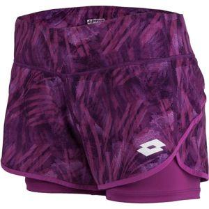 Lotto TOP TEN SHORT PRT PL růžová L - Dámské šortky