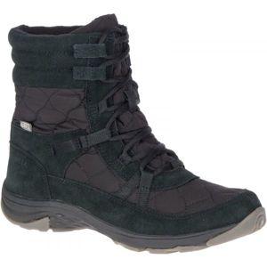 Merrell APPROACH NOVA MID LACE PLR WP černá 6.5 - Dámské zimní boty