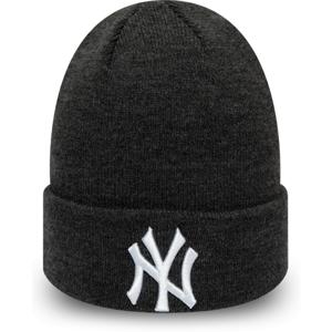 New Era MLB HEATHER ESSENTIAL KNIT NEW YORK YANKEES černá UNI - Pánská zimní čepice