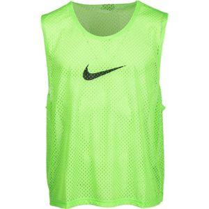 Nike TRAINING FOOTBALL BIB zelená L - Pánský dres