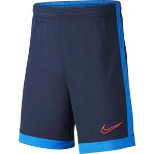Nike DRY ACDMY SHORT K B tmavě modrá L - Chlapecké fotbalové kraťasy