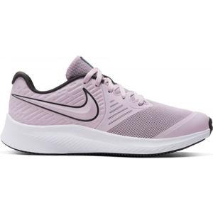 Nike STAR RUNNER 2 GS fialová 7Y - Dětská běžecká obuv