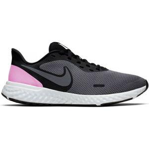 Nike REVOLUTION 5 W černá 6.5 - Dámská běžecká obuv
