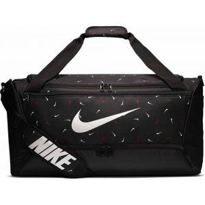Nike BRASILIA M DUFF - 9.0 AOP 2 černá NS - Sportovní taška