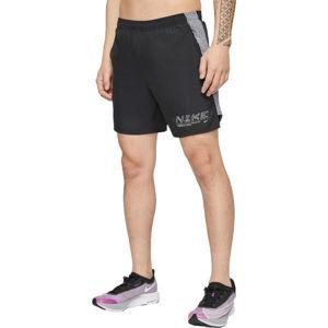 Nike CHLLGR SHORT 7IN BF GX FF M černá M - Pánské běžecké šortky