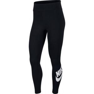 Nike NSW LEGASEE LGNG HW FUTURA W černá XL - Dámské legíny