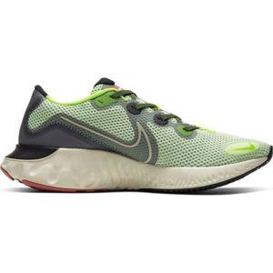 Nike RENEW RUN zelená 8.5 - Pánská běžecká obuv