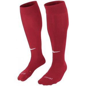 Nike CLASSIC II CUSH OTC -TEAM červená M - Fotbalové štulpny