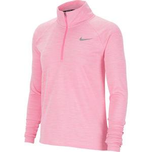 Nike PACER růžová S - Dámský běžecký top