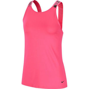 Nike ICNCLSH ELASTKIA W růžová M - Dámské sportovní tílko