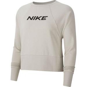 Nike DRY GET FIT FC CW CP EL G W šedá XS - Dámská mikina