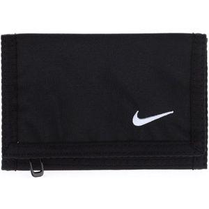 Nike BASIC WALLET černá UNI - Peněženka