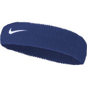 Nike SWOOSH HEADBAND modrá NS - Čelenka