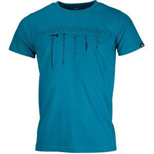 Northfinder BENJIL modrá L - Pánské triko