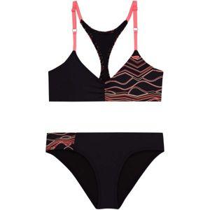 O'Neill PG TRIANGLE BEAD BIKINI černá 128 - Dívčí dvoudílné plavky