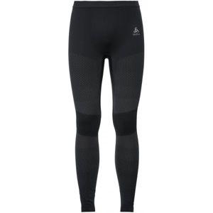 Odlo SUW MEN'S BOTTOM PERFORMANCE ESSENTIALS WARM černá XXL - Pánské funkční spodní kalhoty