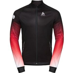 Odlo MEN'S JACKET PERFORMANCE WARM UP černá L - Pánská bunda
