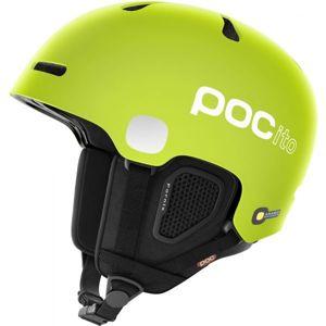 POC POCITO FORNIX FLUORESCENT světle zelená (51 - 54) - Dětská lyžařská helma