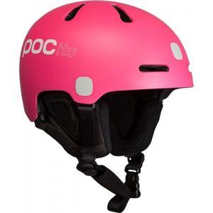 POC POCITO FORNIX růžová (56 - 58) - Dětská lyžařská helma