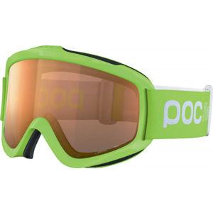 POC POCITO IRIS zelená  - Dětské sjezdové brýle