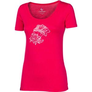 Progress SKAUTKA HOŘEC růžová XL - Dámské bambusové triko