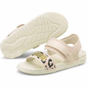 Puma SOFTRIDE SANDAL WNS LEO   5 - Dámské sandály