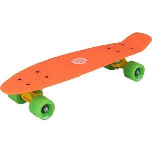 Reaper HOMIE oranžová  - Plastový skateboard