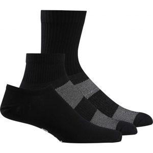 Reebok TE ALL PURPOSE SOCK 3P černá S - Ponožky