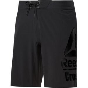 Reebok RC EPIC BASE SHORT LG BR černá L - Pánské šortky