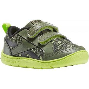 Reebok VENTUREFLEX CRITTER FEET zelená 3.5 - Dětská volnočasová obuv