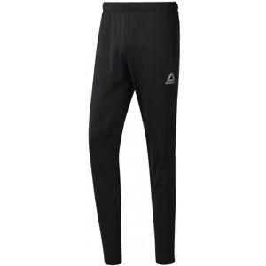 Reebok WORKOUT READY STACKED LOGO TRACKSTER PANT černá XL - Pánské sportovní kalhoty