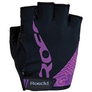 Roeckl DORIA černá 6 - Cyklistické rukavice
