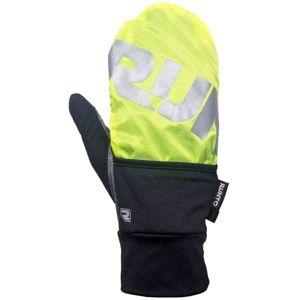 Runto RT-COVER žlutá XS/S - Zimní unisex sportovní rukavice