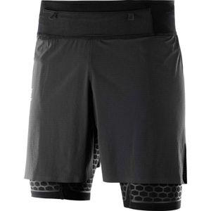 Salomon EXO TWINSKIN SHORT M černá L - Pánské šortky