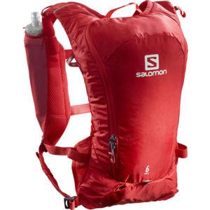 Salomon AGILE 6 SET červená NS - Turistický batoh