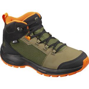 Salomon OUTWARD CSWP J zelená 37 - Juniorská turistická obuv