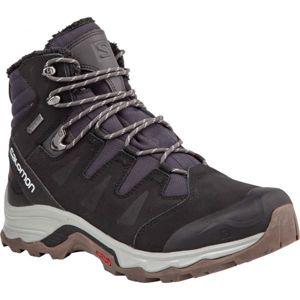 Salomon QUEST WINTER GTX černá 9.5 - Pánská zimní obuv