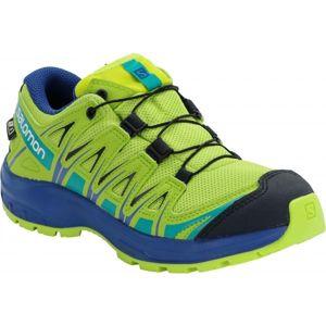 Salomon XA PRO 3D CSWP J žlutá 37 - Dětská běžecká obuv