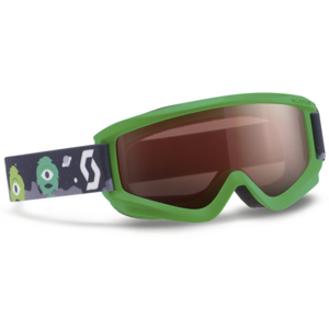 Scott JR AGENT AMPLIFIER zelená NS - Dětské lyžařské brýle