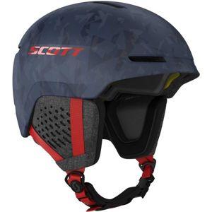 Scott TRACK PLUS modrá (55,5 - 59,5) - Lyžařská helma